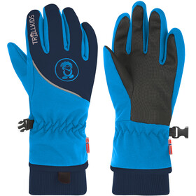 TROLLKIDS Trolltunga Gloves Kids navy/medium blue